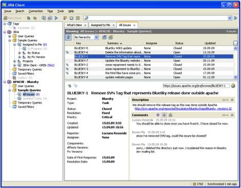 Desktop Jira Client Take Your Bug Tracking Offline