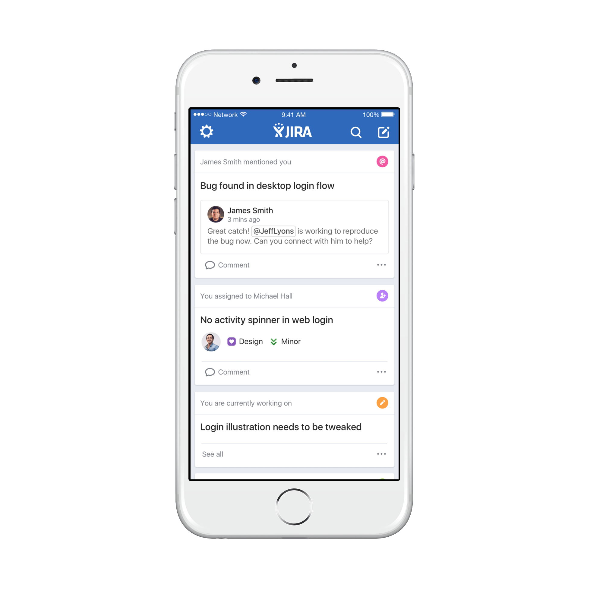Introducing JIRA Software for iPhone