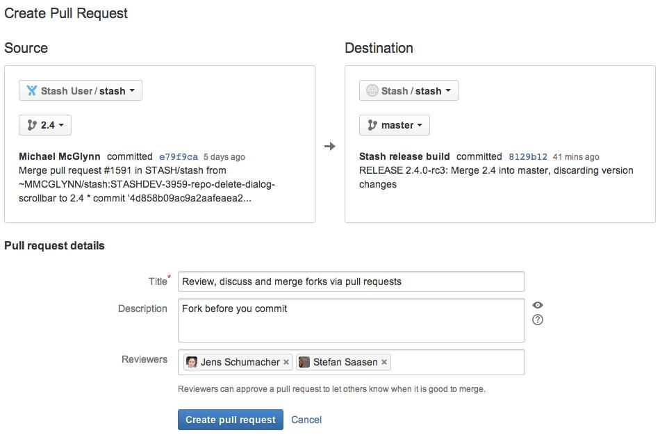 Stash 2 4 Forking In The Enterprise Atlassian Blogs