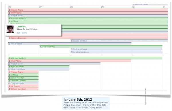 Plan an Awesome Holiday Party with Confluence and Team Calendars