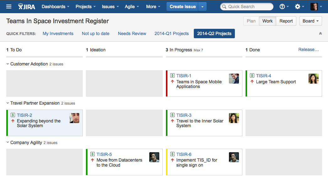 jira task template - project portfolio management with jira agile 2 2